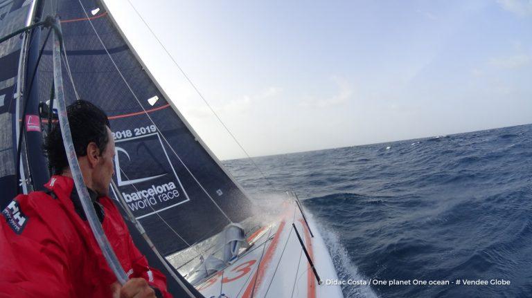 La velería Advanced Sails en la vuelta al mundo a vela