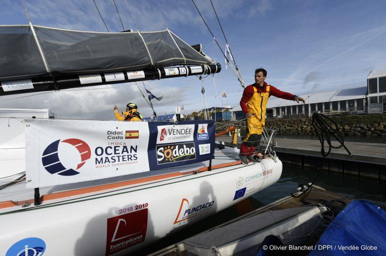 Didac Costa con velas Advanced Sails